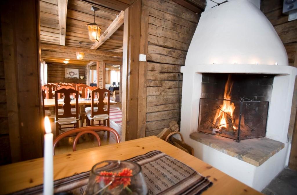 Путешествие в Лапландию деревянный дом
