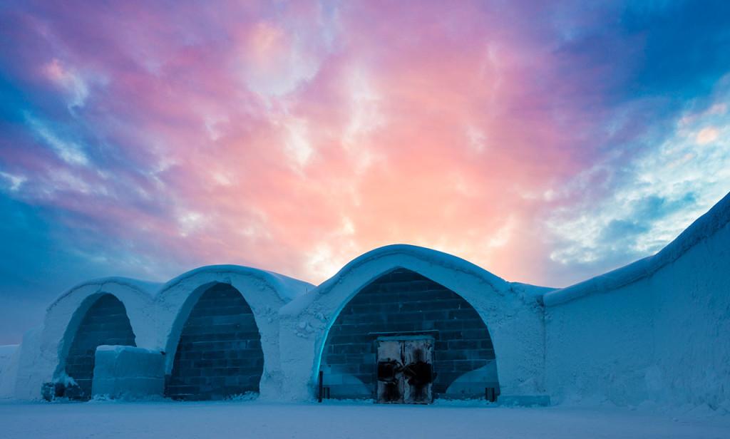ICE HOTEL Лапландия