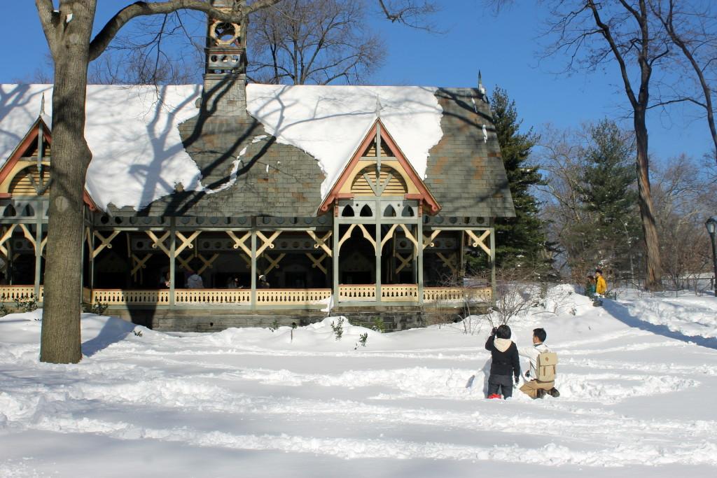 очинение на тему описание природы зимой