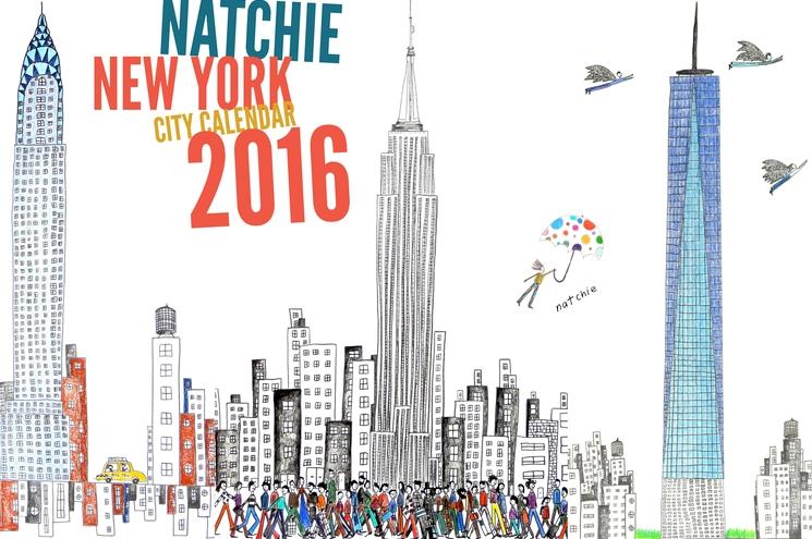 natchie+2016+NYC+calendar+cover