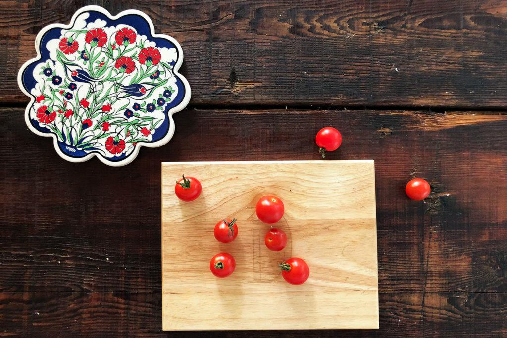 Маленькие красные помидоры