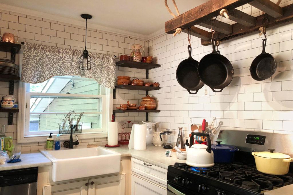 Уютная Загородная кухня